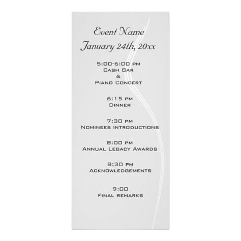 images of formal event programs program design ideas to download formal dinner program templates free