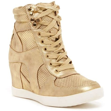 gold wedge sneaker wedge sneakers gold wedges and shoes sneakers on