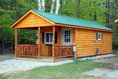 Cgrounds With Cabin Rentals by Cabin Rentals At River View Cground Canoe Livery