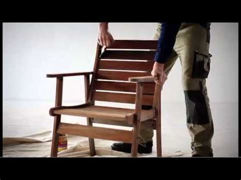 restore outdoor timber furniture youtube