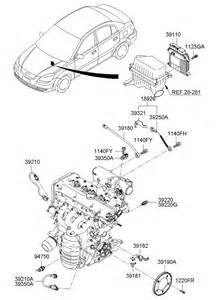 Kia Parts 2004 Kia Amanti Egr Valve Vacuum Diagram 2004 Free