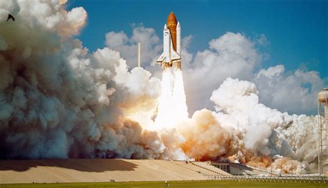 the explosion of the space shuttle challenger free photo challenger space shuttle launch free image