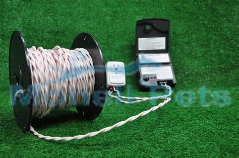 underground electric fence 14 twisted wire for underground in ground electric fence 100 ft ebay