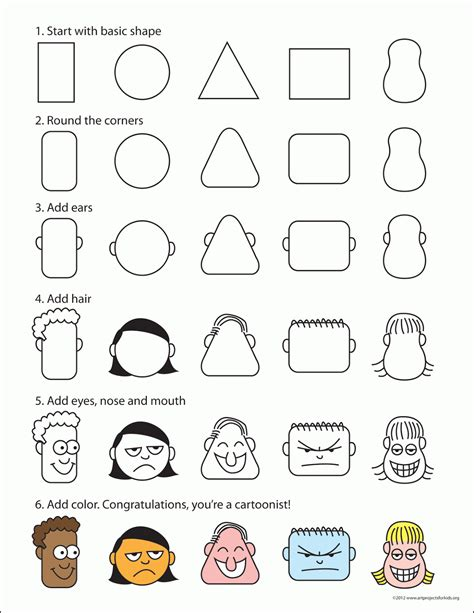 how to draw doodle faces how to draw on 15 pins