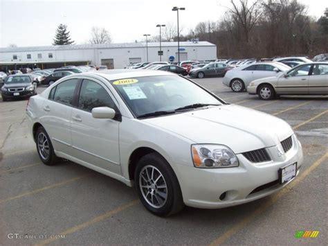 mitsubishi car 2004 2004 dover white pearl mitsubishi galant es 42517970