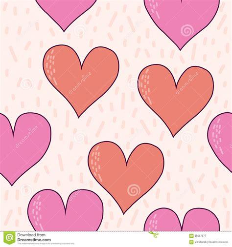 seamless pattern love handmade hearts seamless pattern background love