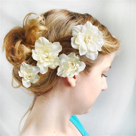 wedding hair flowers pins item details