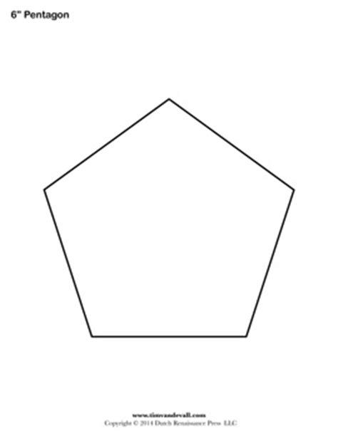 pentagon template printable pentagon templates blank pentagon shape pdfs