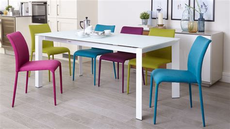 White Glass Extending Dining Table Glass Or Gloss Which Dining Table Finish Is Right For Your Home Danetti Lifestyle