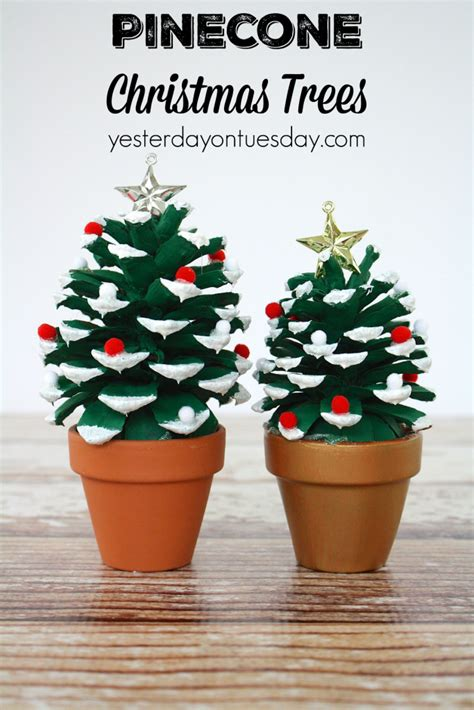 pine cone crafts for christmas 9 easy pinecone projects yesterday on tuesday