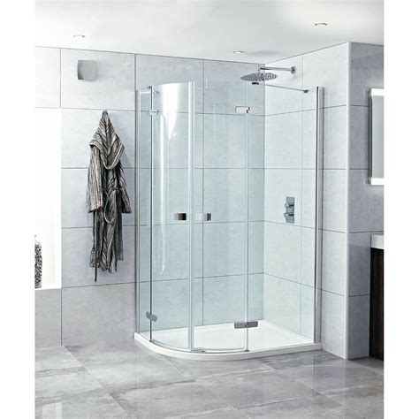 Phoenix Idyllic 1200 X 900mm Frameless Hinged Door Hinged Door Shower Enclosures