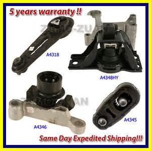 engine motor cvt trans mount set 4pcs for 07 11 nissan sentra 2 0l for auto ebay