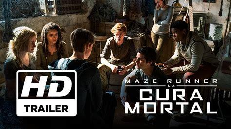 film maze runner bercerita tentang maze runner la cura mortal trailer 1 subtitulado s