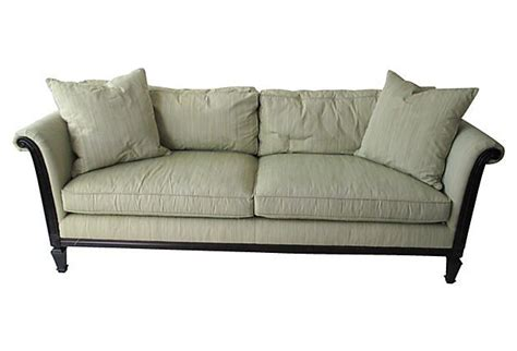 down filled sofa w 2 pillows sofas pillows and products