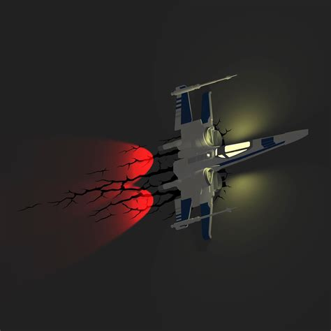 Wars Light by Wars Episode Vii 3d Wall Lights Bb 8 Stormtrooper
