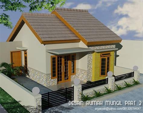 Desain 3d Eksterior desain eksterior rumah mungil part 2 blognya wong sipil karo arsitek
