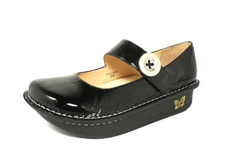 alegria shoes alegria brilliant black patent alegria shoe