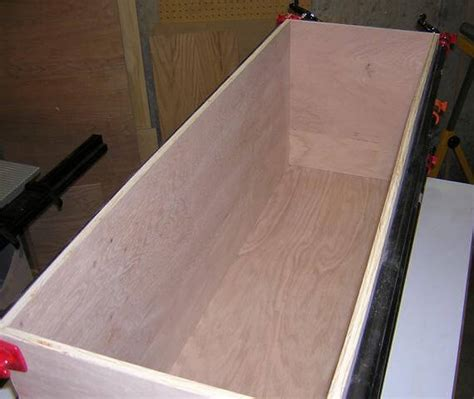 woodwork plywood toy box plans  plans