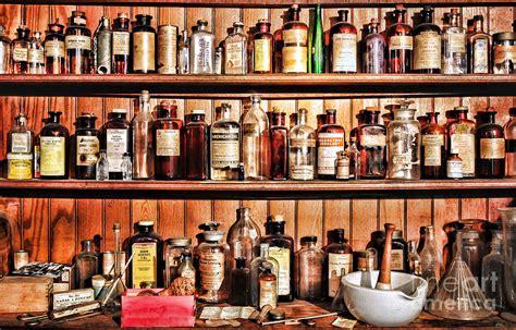 Shelf Of Medicine by Pharmacy The Medicine Shelf Photograph By Paul Ward