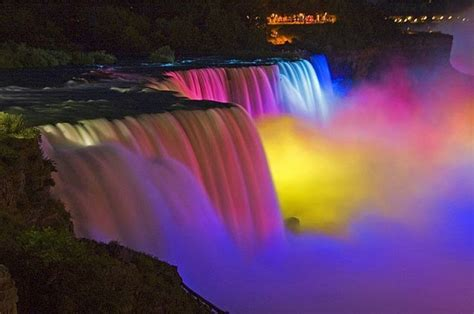 niagara falls light show niagara falls light show round the web info photography