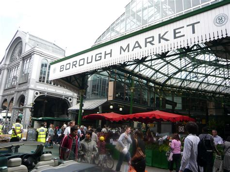 thames clipper borough market the very best food markets in london