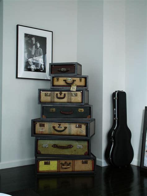 shabby koffer koffer kommode furniture upcycling