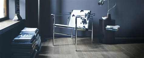 lc armchair  le corbusier pierre jeanneret charlotte perriand cassina