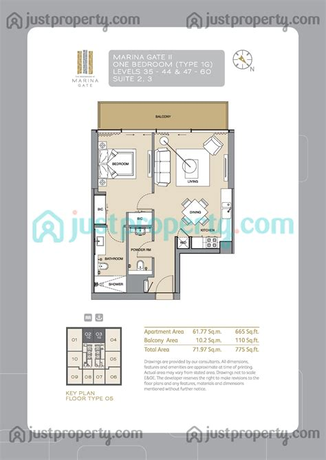 gate tower floor plan marina gate tower 2 floor plans justproperty com