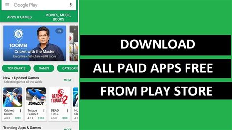 download youtube play store how to download all paid apps books and movies free from