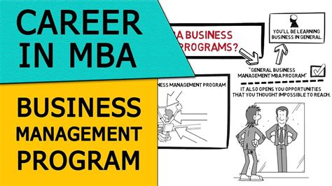 Careers With Mba In Business Administration by Career In Mba Business Management Programs Business