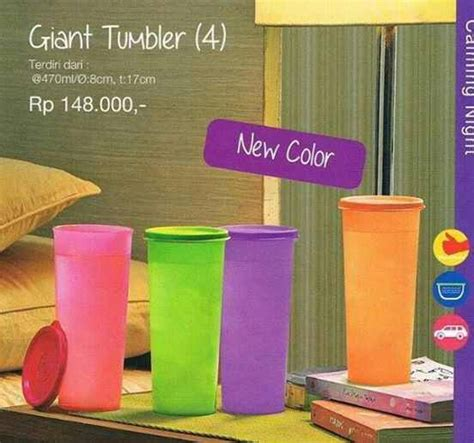 Tupperware Gelas Tutup tumbler new kedai tupperware bocoran katalog