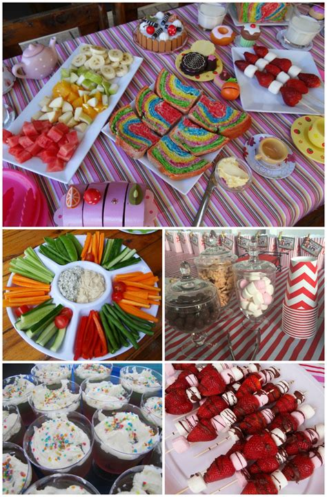 fun party themes kids birthday party food ideas www pixshark com images