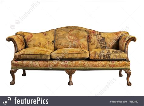 what to do with old sofa sofa with tapestry upholstery old and original antique image