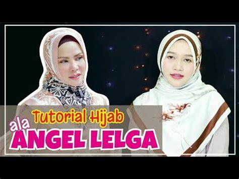 tutorial hijab ala artis angel lelga amaliakurnia