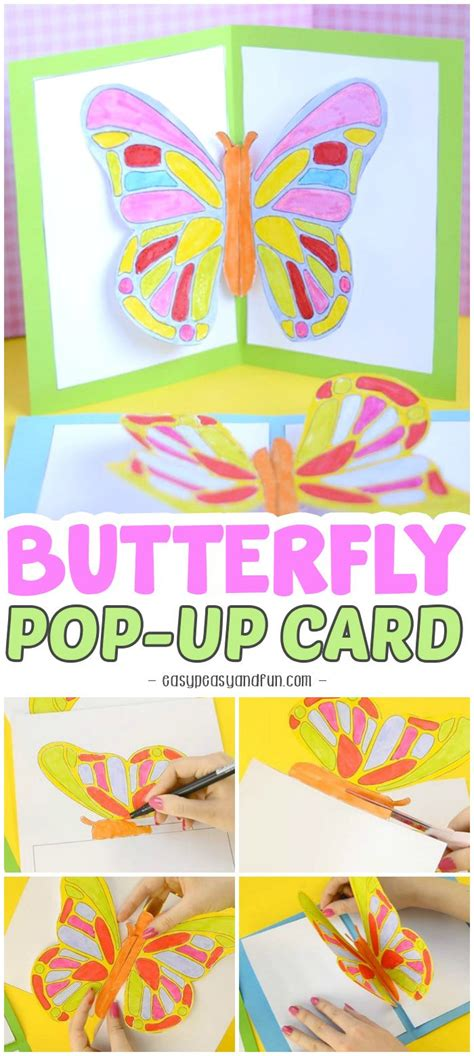 butterfly pop up card template 637 best s day images on s day