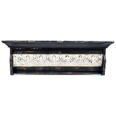 hobby lobby shelves distressed black ornate shelf hobby lobby 996553