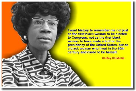 Shirley chisholm a woman who made a difference in the world