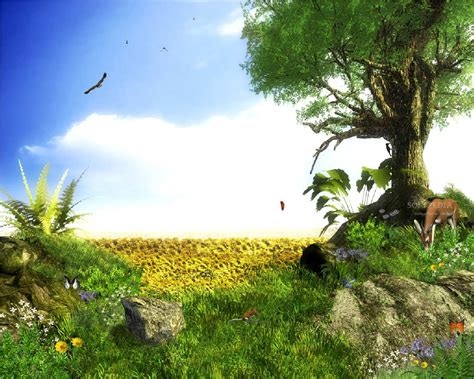 wallpaper cartoon desktop free download nature wallpaper 3d animated desktop free animated