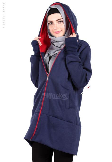 Hijacket Original Hj8 Jaket Panjang Jacket jaket hijaber japan navy hijacket jaket muslimah distro beda