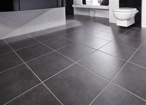 Gray Paneling by Cool Bathroom Floor Tile To Improve Simple Home Midcityeast