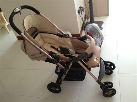 Stroller Babyelle Trevi S250p Stroller Bayi Kembar kereta bayi combi walker kereta dorong bayi baby