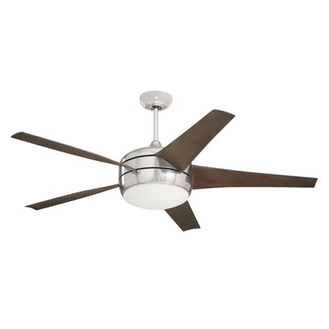 ceiling fans that move the most air monte carlo butterfly 54 in brushed steel ceiling fan