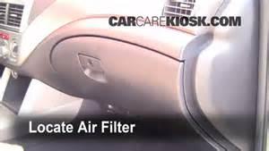 2009 Subaru Forester Air Filter 2009 2013 Subaru Forester Cabin Air Filter Check 2009