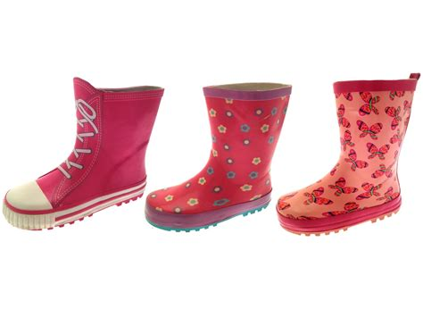 infant size 4 snow boots rubber snow boots wellies wellingtons