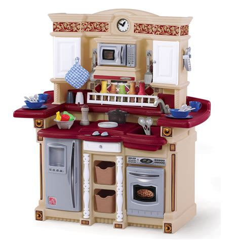 lifestyle partytime kitchen play kitchen step2