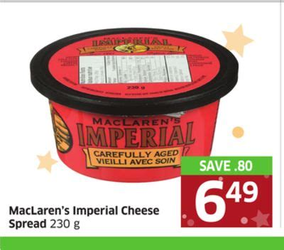 Selai Keju S Cheesy Spread 230 Gram maclaren s imperial cheese spread 230 on sale salewhale ca