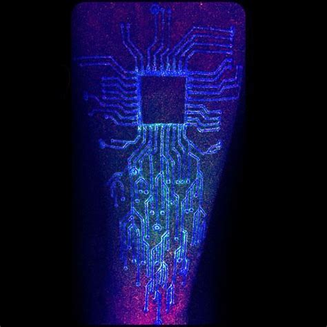 glow in the dark tattoo designs 60 circuit board designs for electronic ink