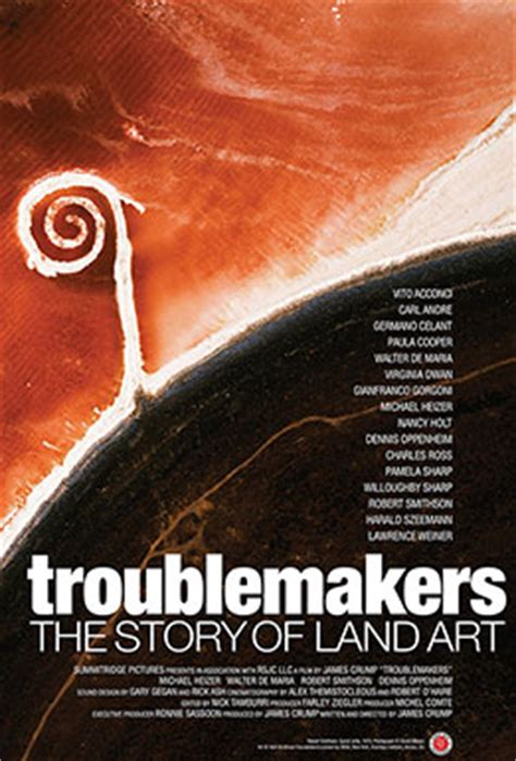 the story of art troublemakers the story of land art movie trailers itunes