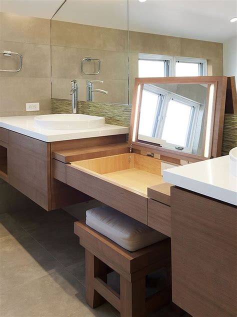 Makeup Vanities For Less 21 Best Images About Master Bath Remodel On Single Sink Vanity Teak And Makeup