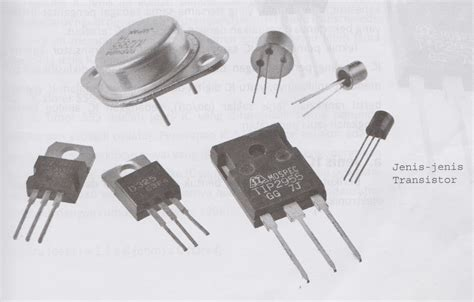 electronic components transistor